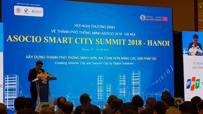 Hà Nội steps up smart city development