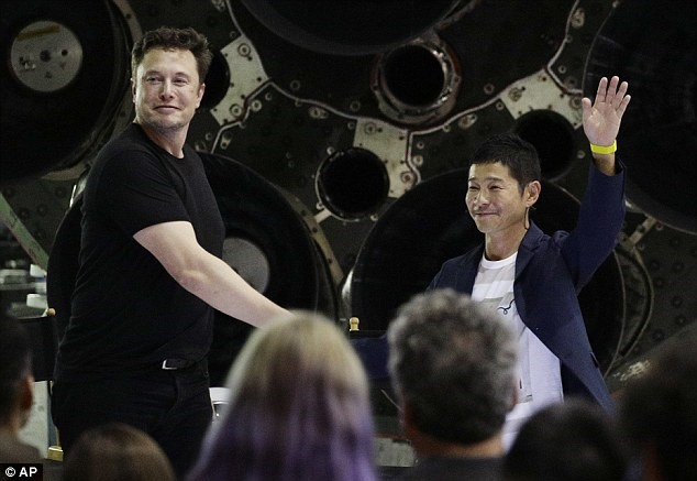 Japanese billionaire businessman revealed as SpaceXs first Moon traveler