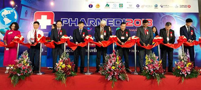 Pharmaceutical healthcare expo begins in HCM City