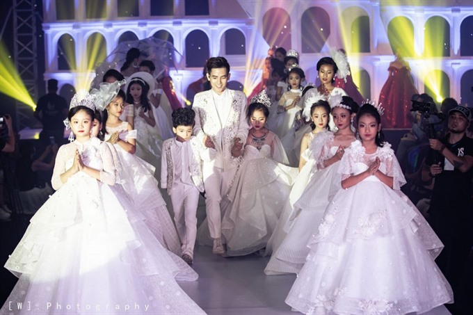 Việt Nam Intl Junior Fashion Week kicks off