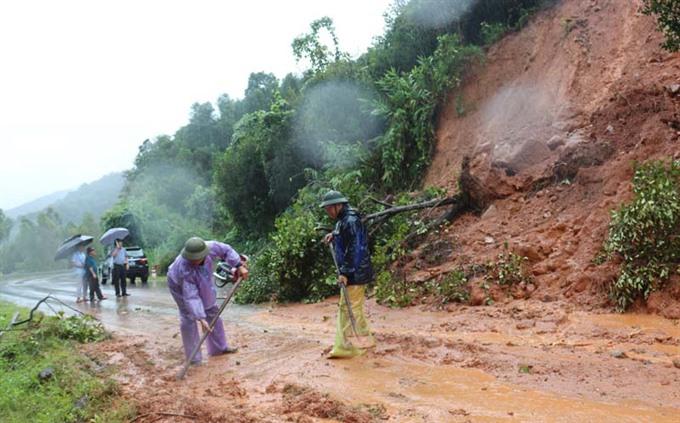 Landslides may hit northern mountainous region