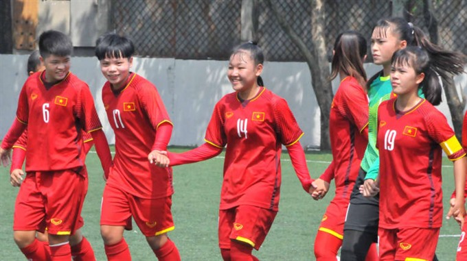 Việt Nam beat Bahrain at AFC womens champs