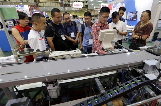 Textile garment industry expo opens in Hà Nội
