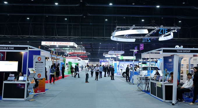 Việt Nam takes part in Southeast Asian tech event in Thailand