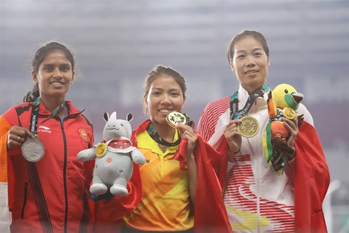 Track and field athletes honoured for ASIAD 2018
