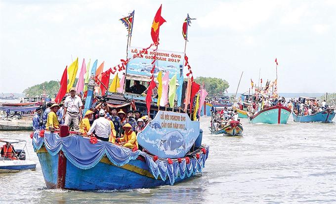 Cần Giờs Nghinh Ông Fest to begin on Sunday