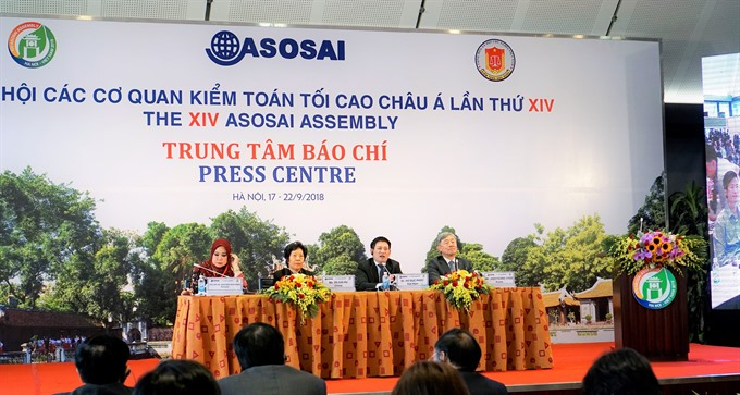 Asian supreme audit assembly concludes adopts Hà Nội Declaration