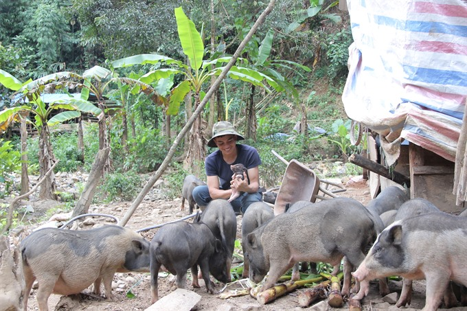 A farming model to support Kho culture