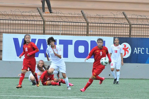 Việt Nam enter the second qualifying round of AFC womens champs