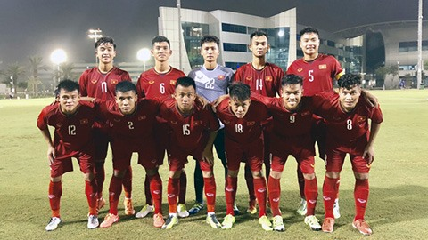 Việt Nam lost to Uruguay in friendly U19 event