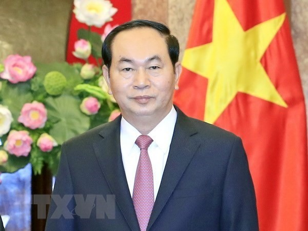 Foreign leaders pay tribute to late President Trần Đại Quang