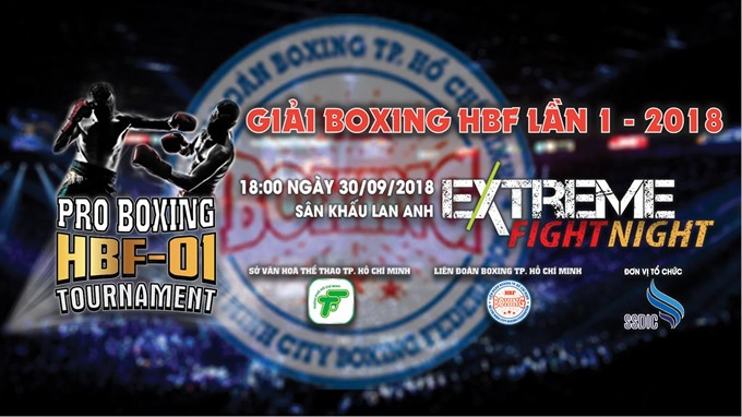 The first HBF Boxing Tournament in HCM City