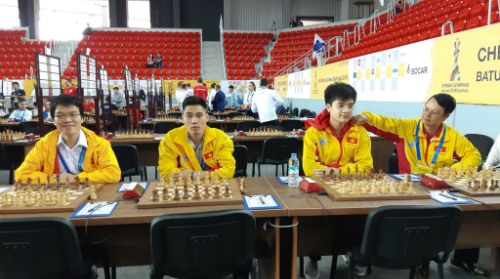 Việt Nam continue winning start at chess tournament