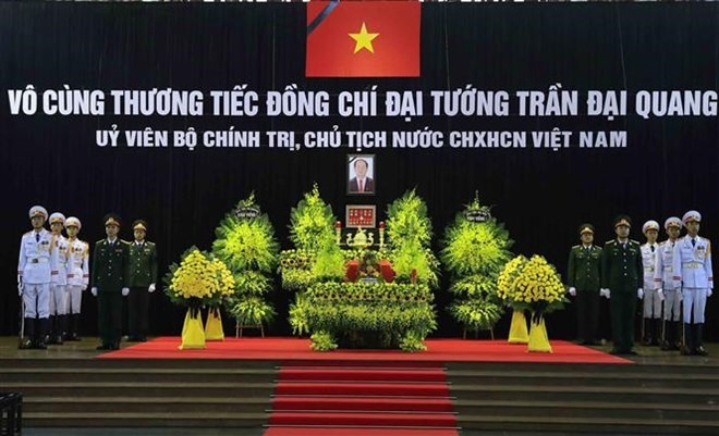 State funeral for President Trần Đại Quang begins