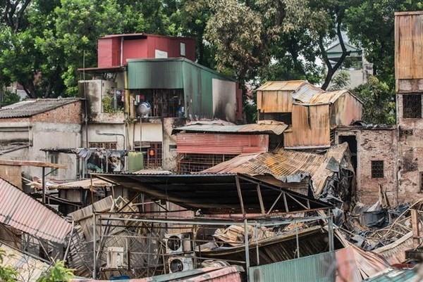 Police investigate fire near National Childrens Hospital