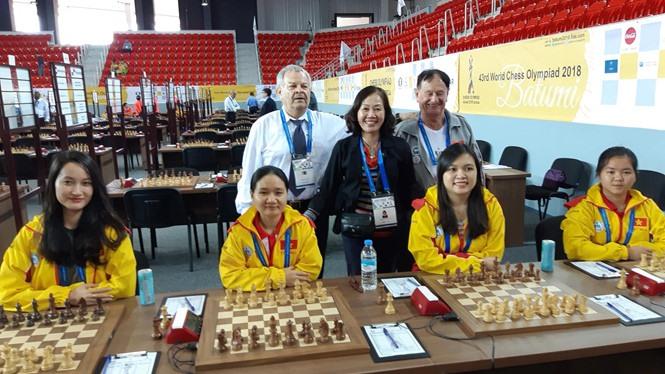 Việt Nam make progress at chess Olympiad