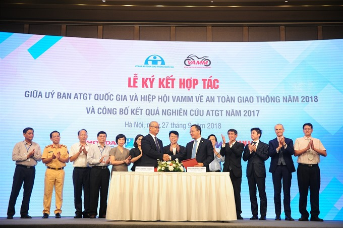 Co-operation program on traffic environment in Việt Nam announces result