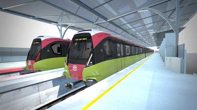 Public votes for metro line No 3 train design