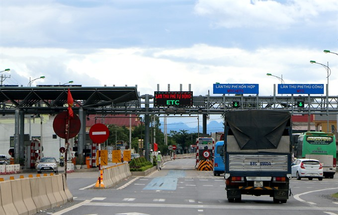 Electronic toll booth construction to be sped up
