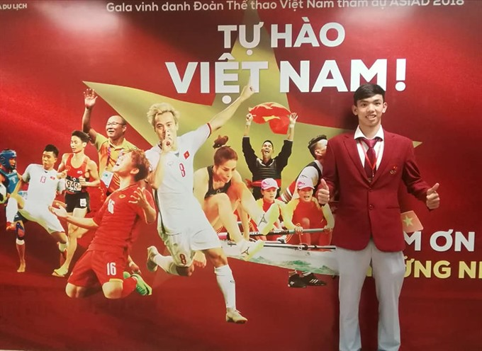 Hoàng writes history for Vietnamese swimming at ASIAD