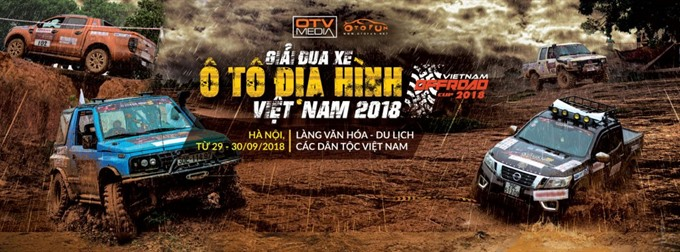 Việt Nam offroad cup to start in Hà Nội