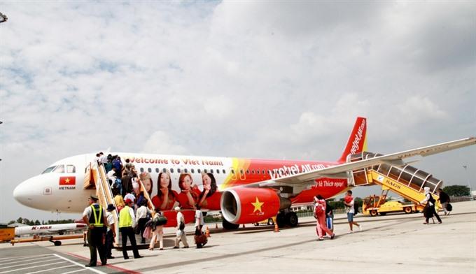 Vietjet joins intl travel expo in HCM City