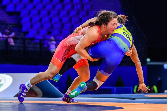 Mongolia loses wrestling gold promoting Việt Nams ranking in ASIAD