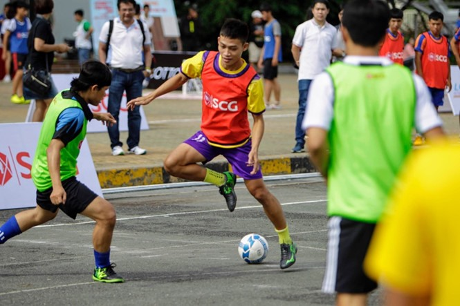Street football finalists progess