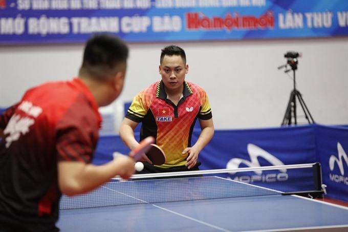 Đạt wins third crown at Hà Nội Mới newspaper Cup