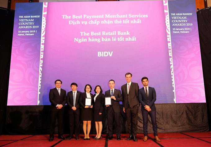 BIDV named Best Retail Bank in Việt Nam