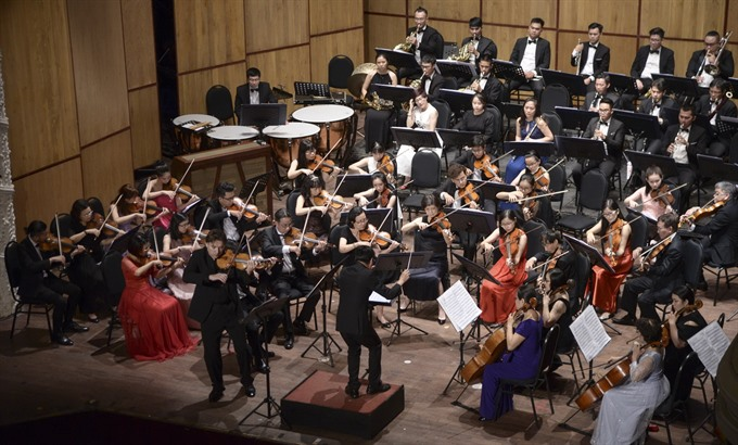 Saigon Philharmonic Youth Orchestra debuts in HCM City