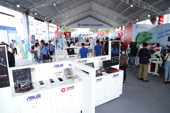 20 leading Taiwanese brands showcase advanced products at HCM City Marathon
