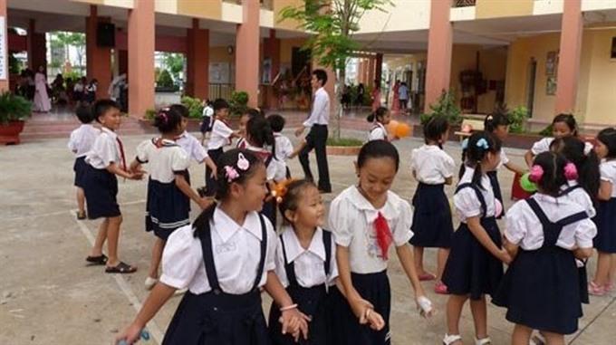HCM City primary schools lack classrooms