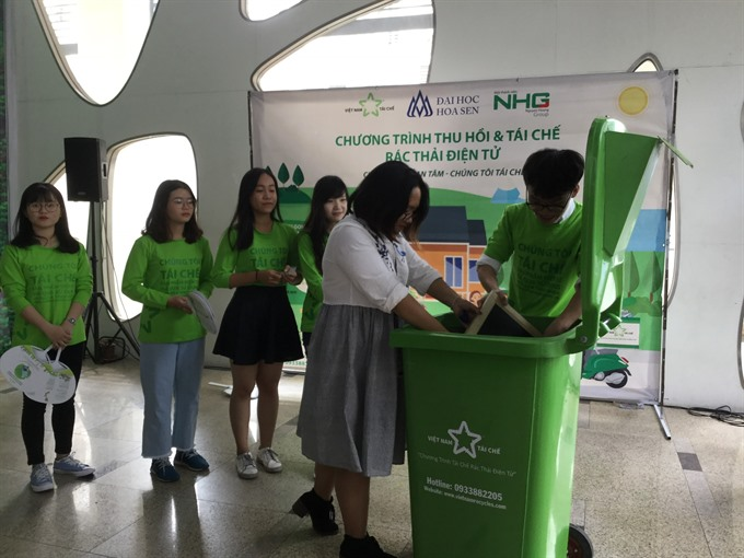 Recycling an urgent imperative in VN as e-waste piles up