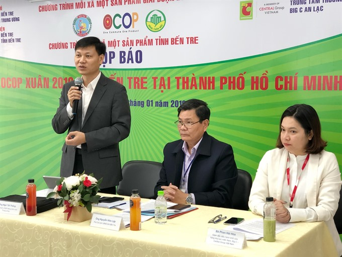 Bến Tre promotes products in HCM City