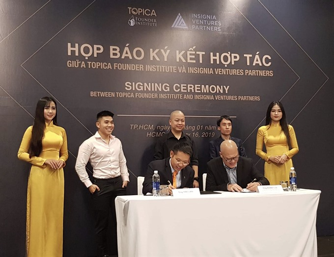 Venture fund ties up with accelerator to finance VN start-ups