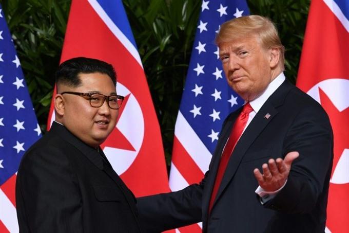 Top N.Korean in Washington to prepare new Trump summit