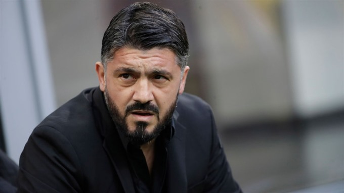AC Milan coach Gattuso banned for Italian Super Cup ref protest