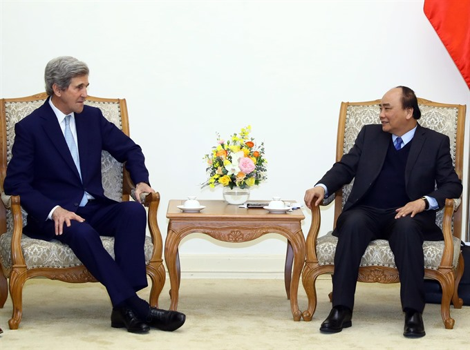 Prime Minister receives Kerry Peterson
