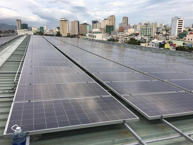 EU Đà Nẵng begin solar power project