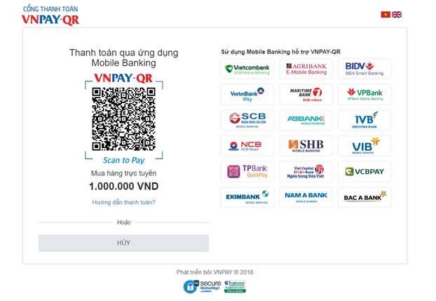 EVN accepts QR payments