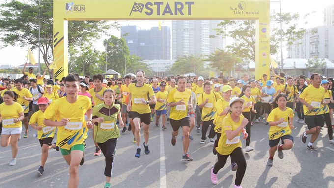 Resolution Run comes to HCM City