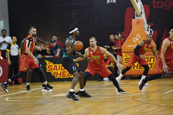 Saigon Heat beat Malaysia Westport Dragons at ABL