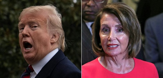 Trump and Pelosi again butt heads but others see possible paths