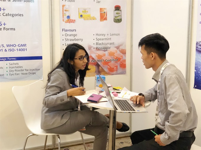 India VN step up pharma ties