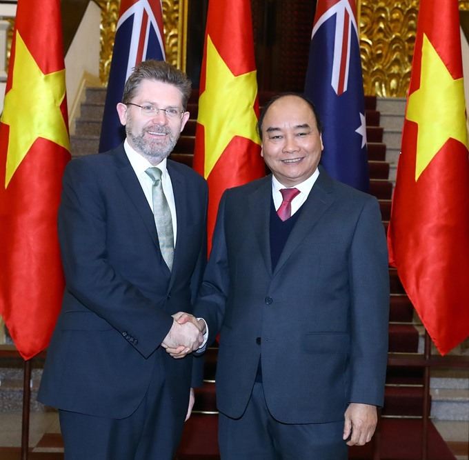 Việt Nam-Australia relations now at best level ever: PM Phúc