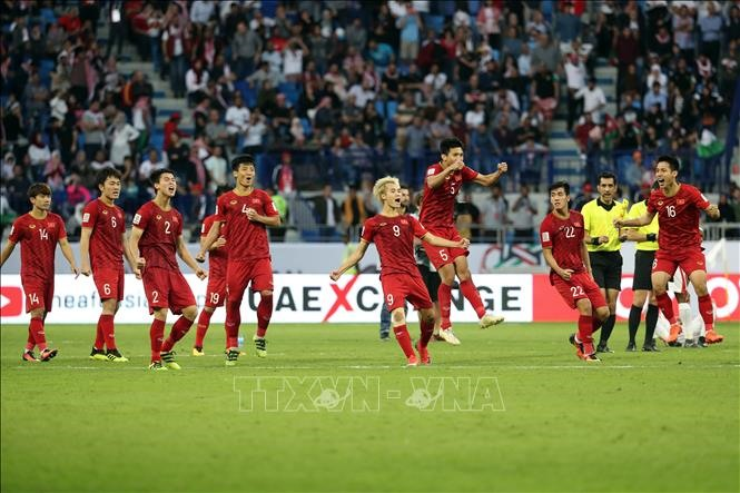 Việt Nams victory over Jordan at Asian Cup grabs intl headlines
