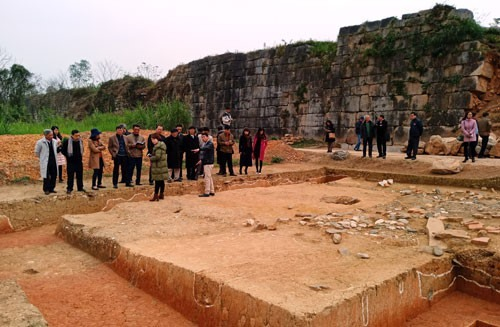 Archaeologists announce findings at ancient citadel