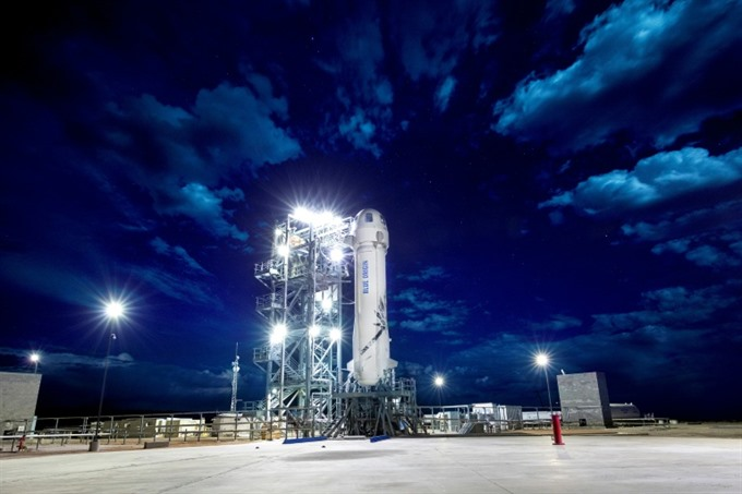Blue Origin to make 10th flight test of space tourist rocket