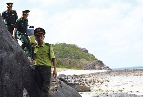 Rangers on Côn Đảo Island protect sea and forest